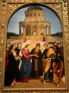 ラファエロ サンツィオ 聖母マリアの婚礼