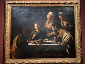カラバッジョ エマウスの晩餐