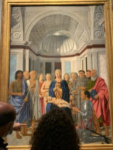 ピエロ デッラ フランチェスカ ウルビーノの祭壇画