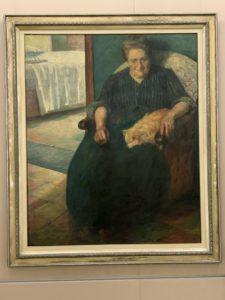 ウンベルト ボッチョーニ La Signora Virginia(ヴィルジーニア夫人) (1905)