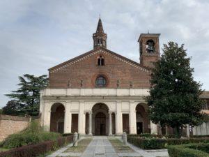キャラヴァッレ修道院 正面